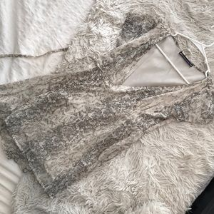 Abercrombie and Fitch Snake Print Dress